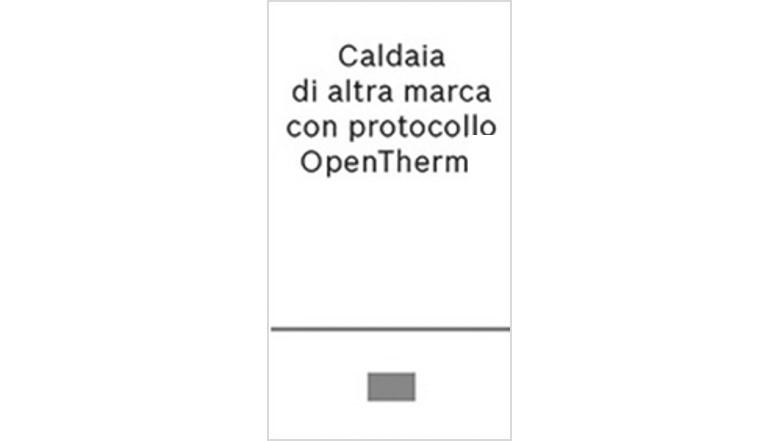 Caldaia di altra marca con protocollo opentherm